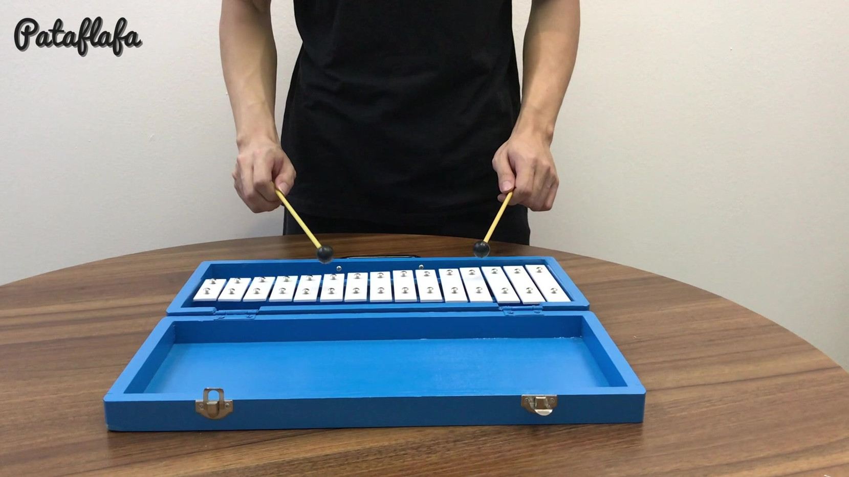 Glockenspiel with woodcase .mp4