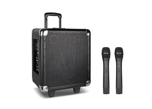 "10"" Portable PA System (W/2 Wireless mics)"