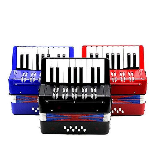 Mini Accordion Piano Keys
