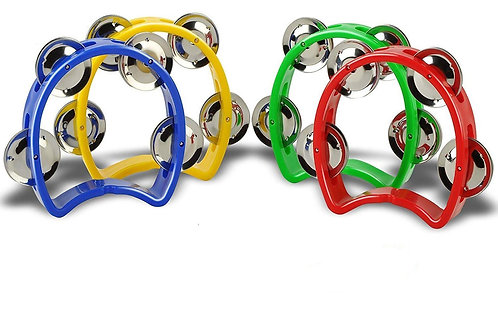 Mini Tambourine (4 pair jingles)