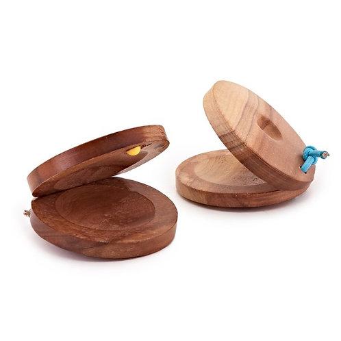 Wooden Castanet (Pair)