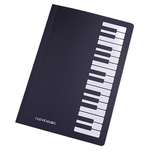 Music Piano Notebook