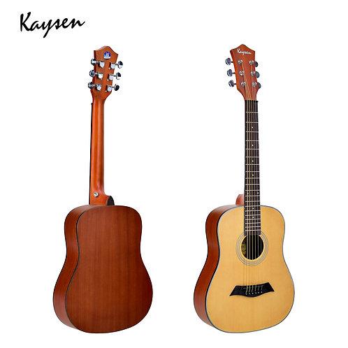 "Kaysen Acoustic Guitar (34"" Spruce/ Sapele Wood, W/O Pickup)"
