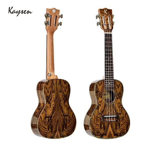 """Kaysen Ukulele (24"""" Nabi wood, W/O Pickup)"""