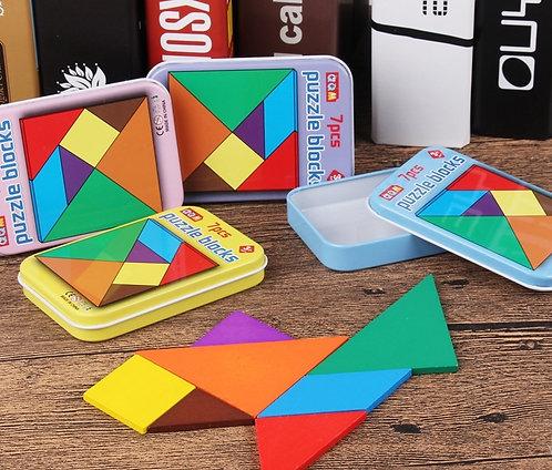 Puzzle Shape Set (7 Pieces)