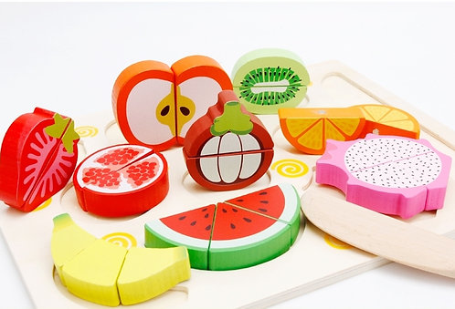 Fruits Chopping Board Puzzle
