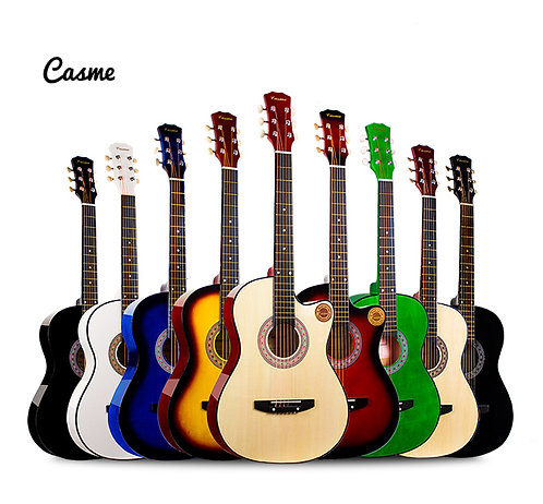 "Casme Acoustic Guitar (38"" Linden Wood)"