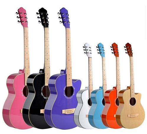"Acoustic Guitar (39"" Linden Wood, W/O Pickup)"