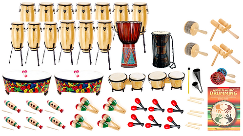 Pataflafa World Percussion package