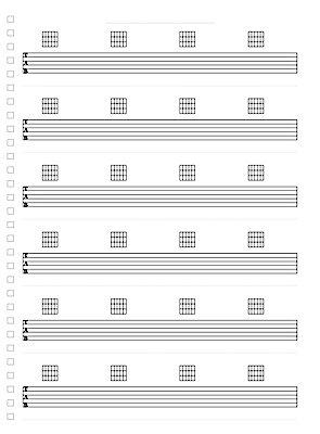 5 Lines 50/100 Pages Treble & Bass Clef Manuscript Book
