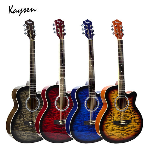 "Kaysen Acoustic Guitar (39"",40""Bass Wood, W/O Pickup)"