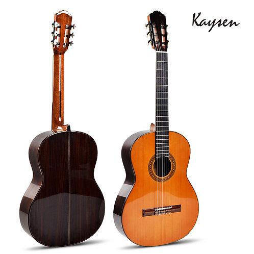 "Kaysen Classical Guitar (39"" A+ Cedar & Rosewood Wood W/O Pickup)"