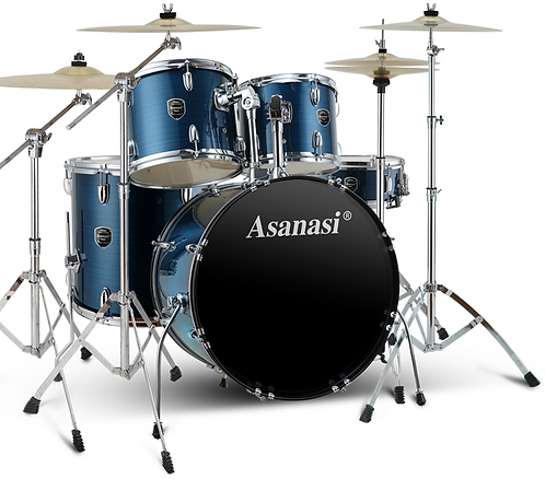 Asanasi Acoustic Drum Set