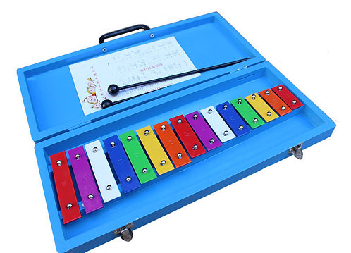 Colour Glockenspiel (15 Keys)