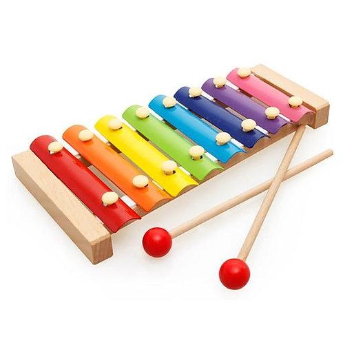 Colourful Glockenspiel 8 Keys