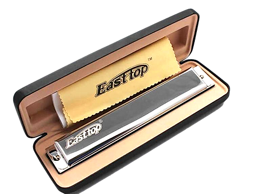 East Top Harmonica 24 Holes (Key Of C)