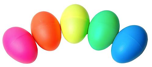 Plastic Egg Shaker