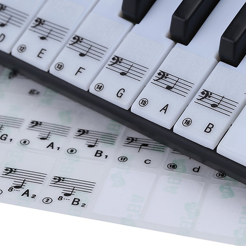 Keyboard/Piano Sticker 88 Keys