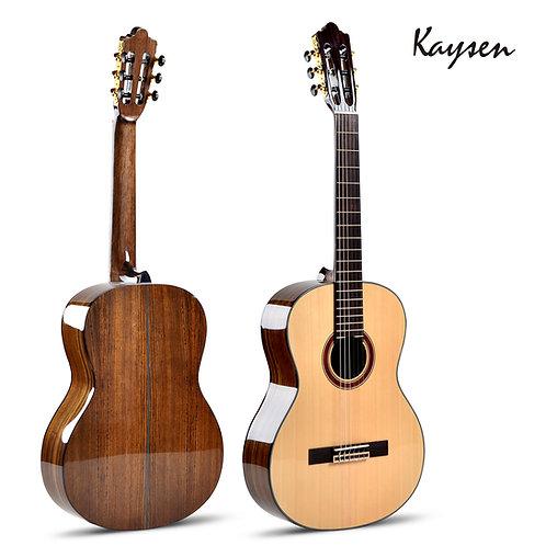 "Kaysen Classical Guitar (36"",39"" Spruce & Walnut Wood, W/O Pickup)"