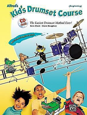 Alfred's Kid's Drumset Course (Book/CD Set)