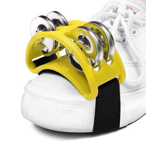 Shoe Mounted Tambourine For Cajon