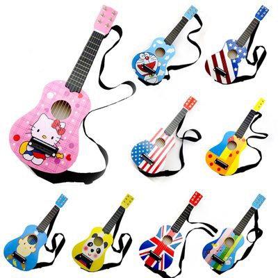 "Colourful Kids Guitar 21"""