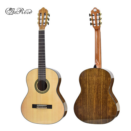 "The Rose Classical Guitar (36"",39"" Spruce & Walnut Wood, W/O Pickup)"