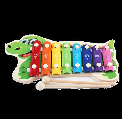Dinosaur Glockenspiel 8 Keys