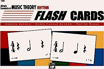 Music Flash Cards (Rhythms)