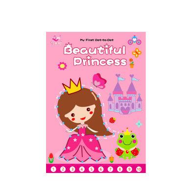 Beautiful Princess Join The Dots Book