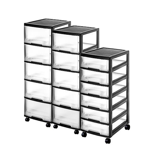Storage Rack W/ Wheels