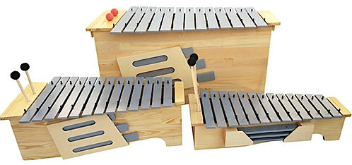 Metallophone (Soprano, Alto, Bass 13 Keys)