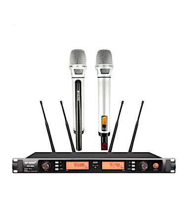 WACITA Wireless Microphone w/Receiver (2-4 Mics)