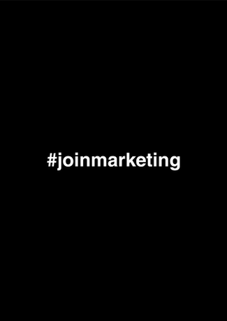 #JoinMarketing