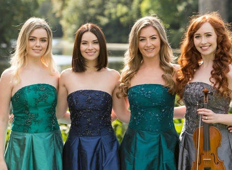 Irish group Celtic Woman arrives in Curitiba