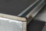 Порог алюминиевый, Без покрытия