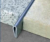 Разделительный профиль под шлифовкуполир