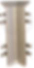 Угол внутренний металлический для 70-10-3000 (2158)