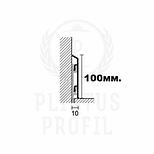 Чертеж плинтус 100-10-3000 (2642)