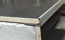 Г - образный профиль Серебро матовое