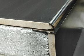 Профиль J-образный алюминиевый