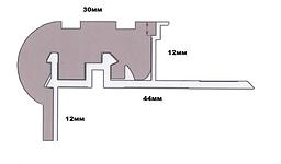 Профиль для ступеней SMP 32*22