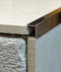 П образный профиль для плитки