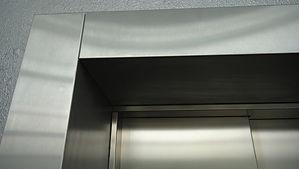 Наличники на двери, из нержавеющей стали