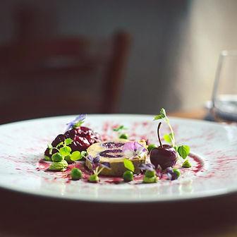 Foie gras mi-cuit, condiment cerise 🍒