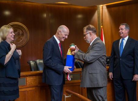 Governor Scott Tweets about Salsa from Zolfo Springs