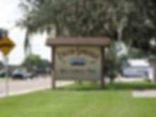 Zolfo Sprigs Welcome Sign