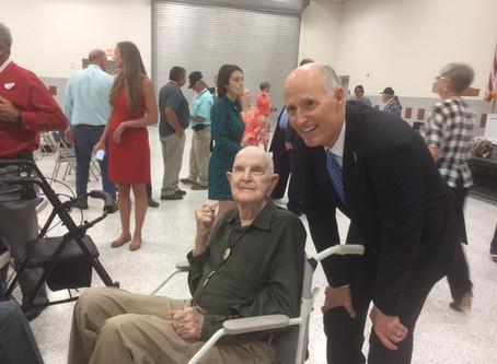 Governor Scott Honoring Hardee Veterans
