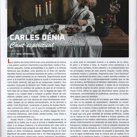 CARLES DÉNIA. Cant Espiritual