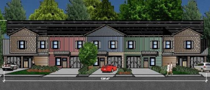 New Townhomes Approved in Baird Cove Community.